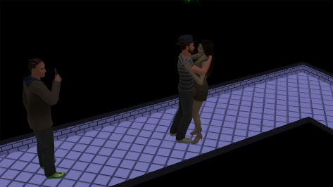 It's that damn Peeper Sim again! I'd never forget those shoes!