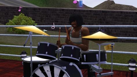 Drumming! Fuck yeah!!!