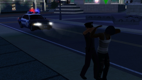 I kept hoping that he would fight and resist, but he complied with the officer